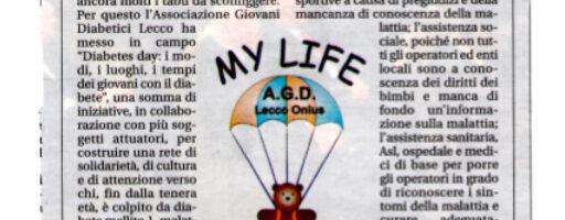 articolo_giornalelecco_daibetesday